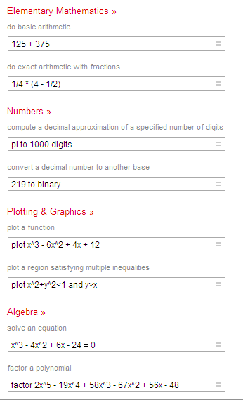 Mathematics-wolfram-sample