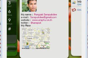 โปรแกรมแรกบน WebOS โดย Palm Mojo SDK