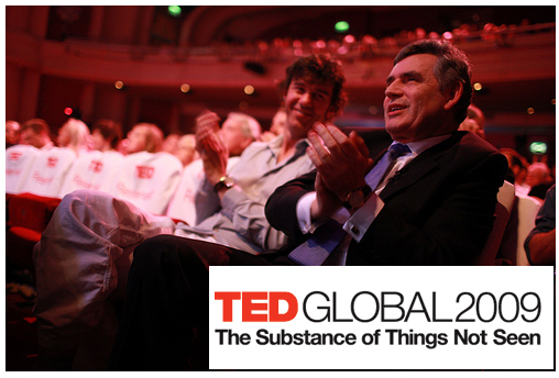 TED Global 2009 ที่ออกฟอร์ด อังกฤษ