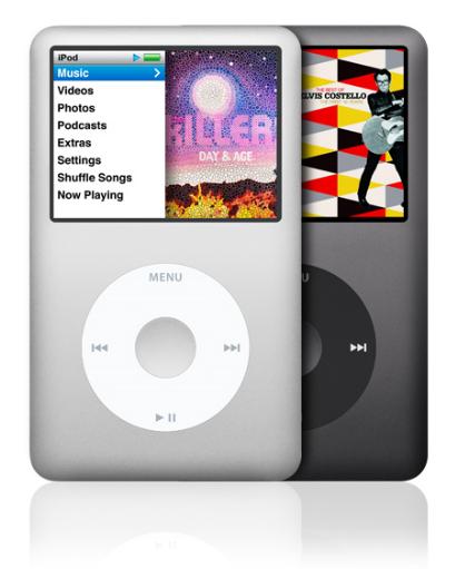iPod classic เพิ่มความจุเป็น 160 GB