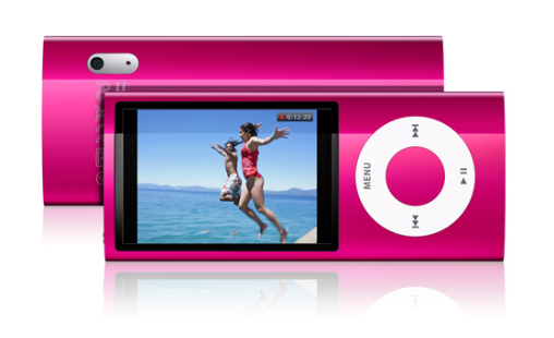 iPod nano มีกล้องวีดีโอ มีวิทยุ FM