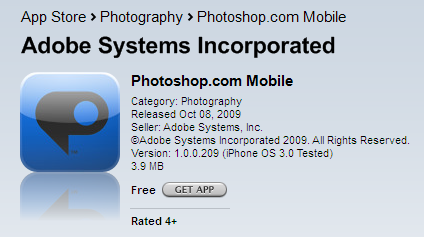 photoshop.com บน App store