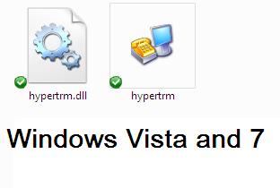 hyperterminal ใน windows7 และ vista