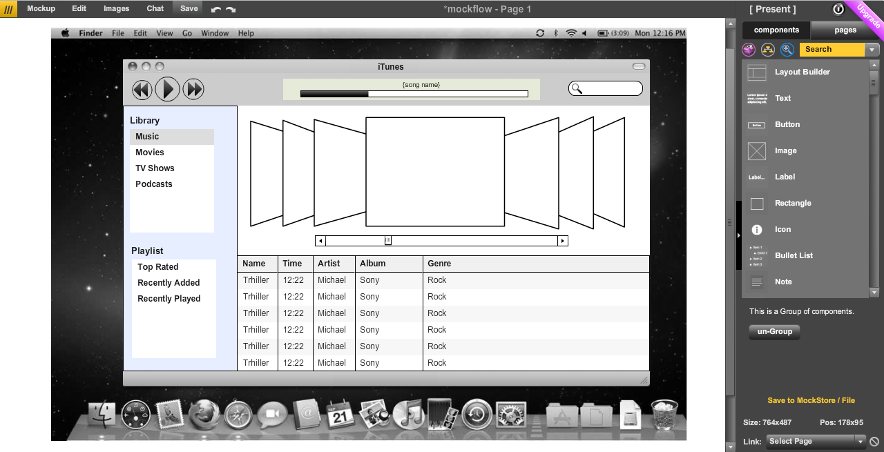 Free Online Wireframe Tool For Software And Website