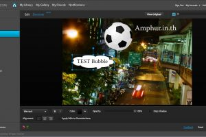 Online Image Editor แต่งภาพออนไลน์ ไม่ต้องลงโปรแกรม