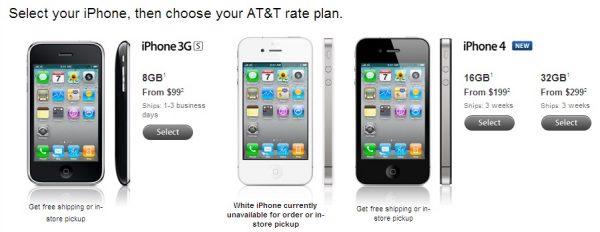 iphone 4 us 600x232 เช็คราคา iPhone 4 ของ 5 ประเทศที่ได้ขายก่อนประเทศอื่น