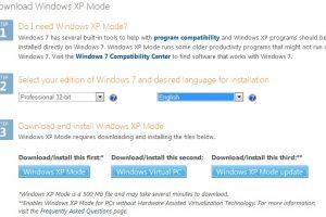 Reviews: Windows XP Mode on Windows 7