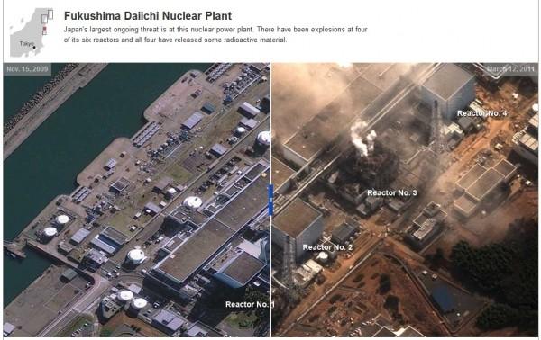 โรงไฟฟ้านิวเคลียร์ ที่ฟุกุชิมา