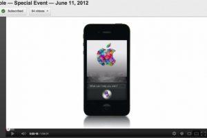 Apple อัพโหลดวีดีโองาน WWDC 2012 Keynote ขึ้น Youtube ให้ได้ดูกันแล้ว