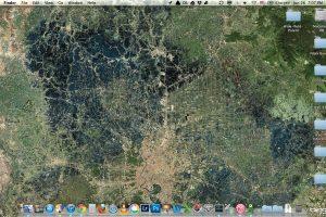 โปรแกรม Satellite Eyes เปลี่ยน Wallpaper ให้เป็นภาพถ่ายดาวเทียมในตำแหน่งที่คุณอยู่