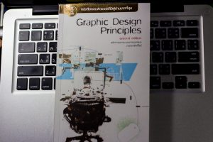 Graphic Design Principle 2nd edition หนังสือ หลักการและกระบวนการออกแบบงานกราฟิกดีไซน์