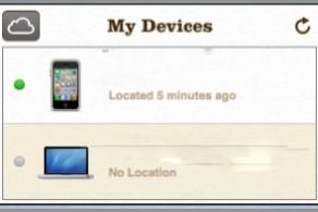 Find My Mac แสดงผลเป็น No Location