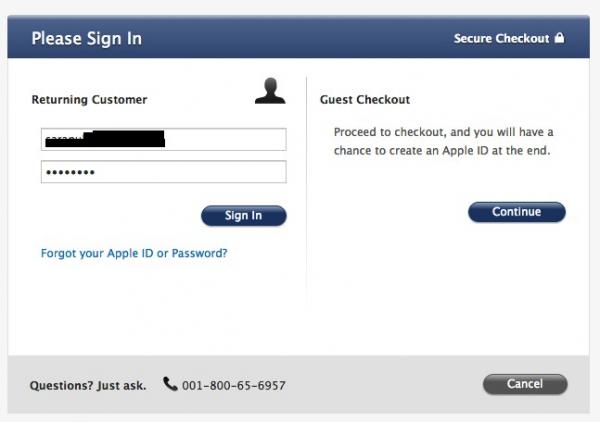 ถ้าใครมี Apple ID อยู่แล้วก็ล็อกอินได้เลย