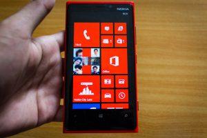 รูปถ่ายจากกล้องของ Nokia Lumia 920