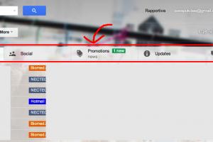 วิธีปิด Inbox Tabs ใน Gmail