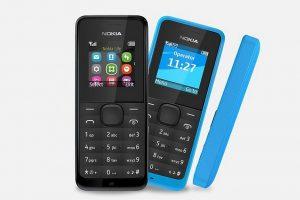 Nokia 105 ราคาถูก เปิดเครื่องรอรับสายได้นานถึง 35 วัน