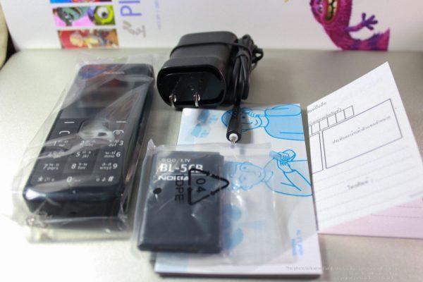 อุปกรณ์ภายในกล่อง Nokia 105