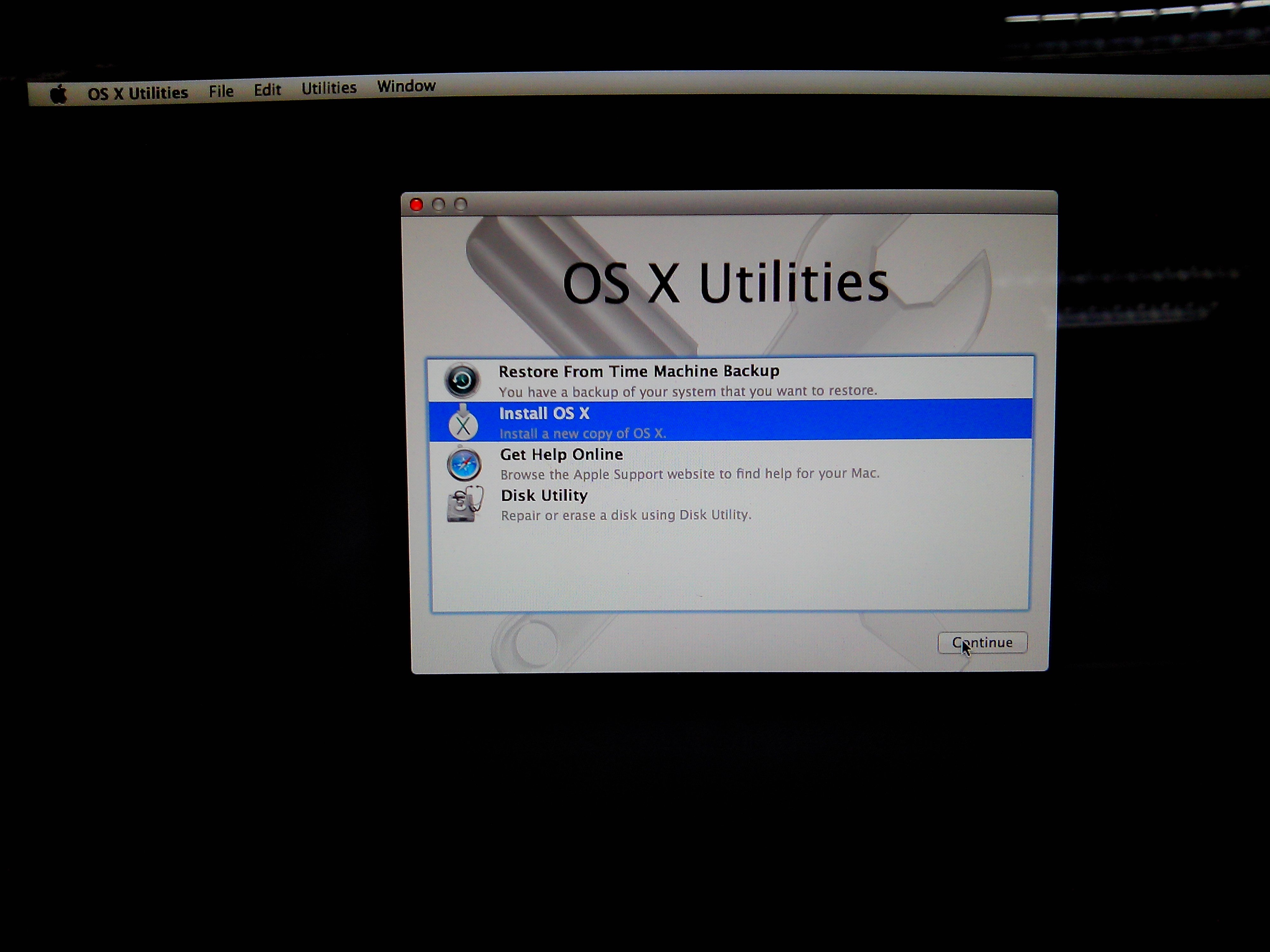 how to make a bootable mavericks install drive