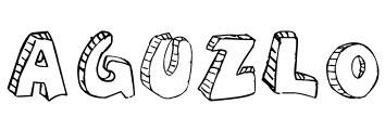 Aguzlo Font