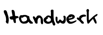 Handwerk Font