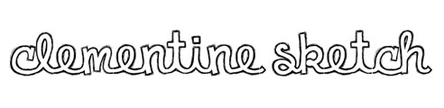 Clementine Sketch Font
