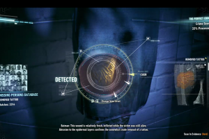 Detective Mode in Batman: Arkham Knight