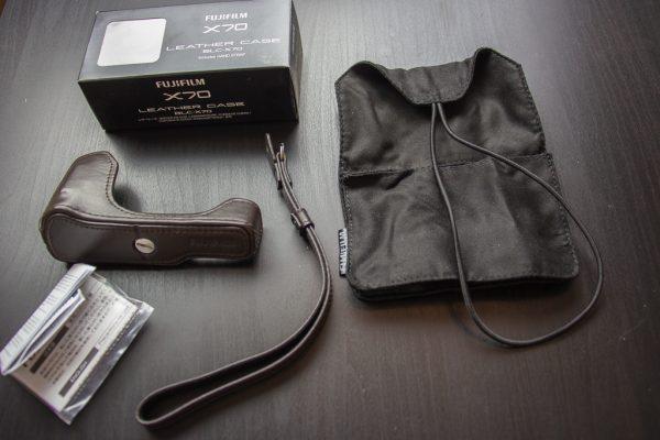 Half leather case BLC-X70