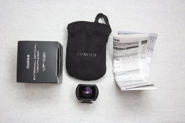 แกะกล่องของ Fujifilm External Optical Viewfinder VF-X21