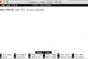 อ่านเขียนไดรว์ NTFS ใน MacOS ไม่ต้องติดตั้งโปรแกรม