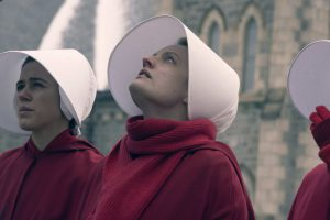 The Handmaid's Tale, a TV show is based on the book
